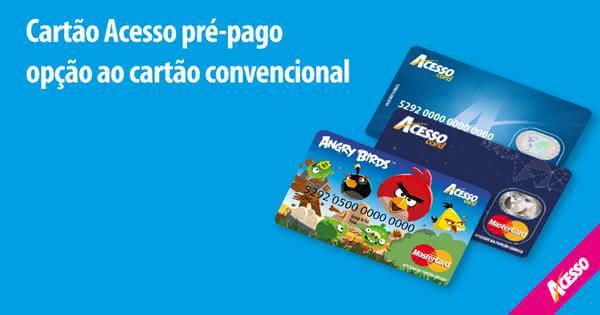 Cartão de crédito pre-pago