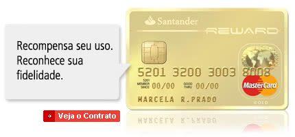Cartão De Crédito Santander Reward